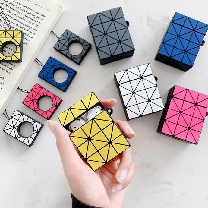 Rubik's Cube Premium AirPods Case Shock Proof Cover