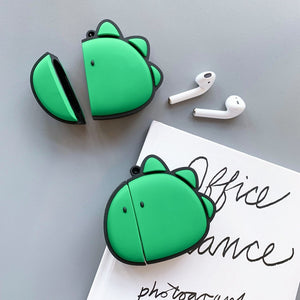 Cute Comic Dino Premium AirPods Case Shock Proof Cover