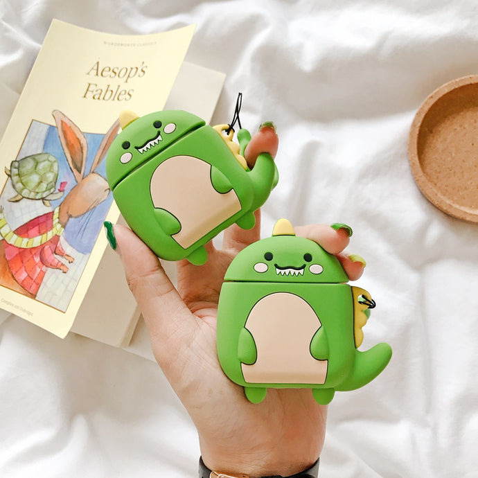 Cute Dinosaur Premium AirPods Case Shock Proof Cover