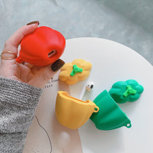 Load image into Gallery viewer, Yellow Bell Pepper Premium AirPods Case Shock Proof Cover