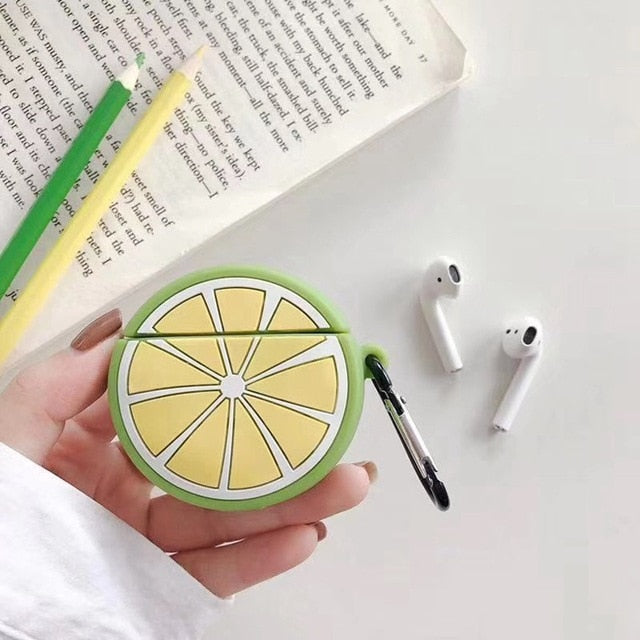 Lime Premium AirPods Case Shock Proof Cover