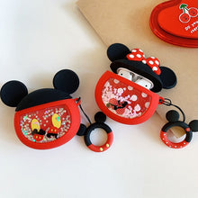 Load image into Gallery viewer, Mickey Mouse 'Snowglobe' Premium AirPods Case Shock Proof Cover