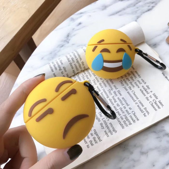Side Eye Emoji Premium AirPods Case Shock Proof Cover