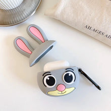Load image into Gallery viewer, Wide Eyed Bunny Premium AirPods Case Shock Proof Cover