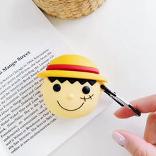 Load image into Gallery viewer, One Piece 'Luffy' Premium AirPods Case Shock Proof Cover