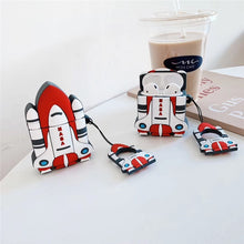 Load image into Gallery viewer, Cute Rocket Ship Premium AirPods Case Shock Proof Cover