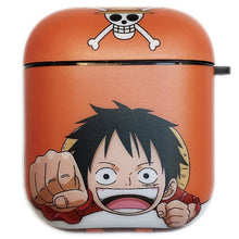 Load image into Gallery viewer, One Piece 'Luffy' AirPods Case Shock Proof Cover