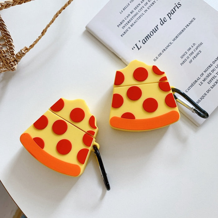 Pizza Premium AirPods Case Shock Proof Cover