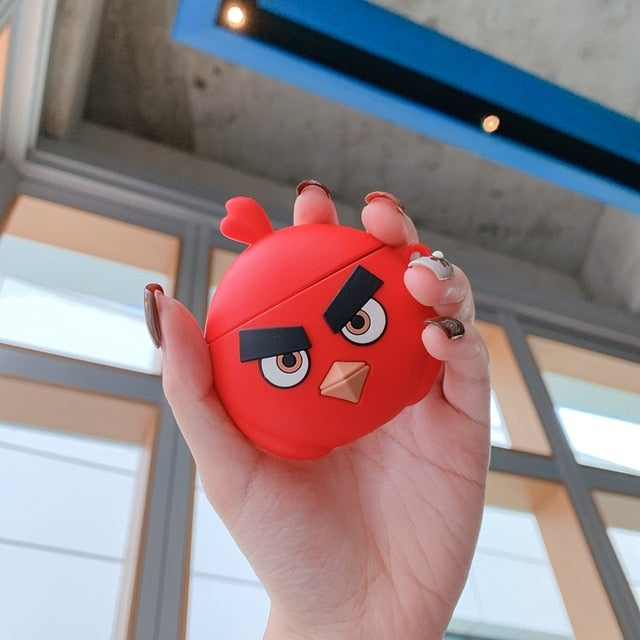 Angry Birds 'Red' Premium AirPods Case Shock Proof Cover