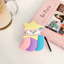 Load image into Gallery viewer, Cute Rainbow Shooting Star Premium AirPods Case Shock Proof Cover
