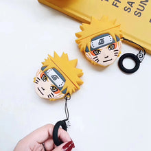 Load image into Gallery viewer, Naruto 'Menma Uzumaki' Premium AirPods Case Shock Proof Cover