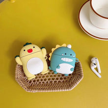 Load image into Gallery viewer, Cute Happy Dinosaur Premium AirPods Case Shock Proof Cover