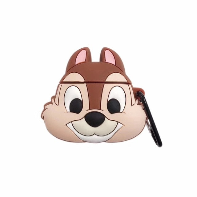 Chip and Dale Rescue Rangers 'Chip' Premium AirPods Case Shock Proof Cover