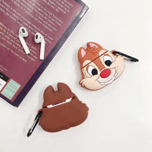 Load image into Gallery viewer, Chip and Dale Rescue Rangers 'Chip' Premium AirPods Case Shock Proof Cover