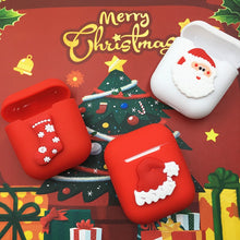 Load image into Gallery viewer, Christmas 'Santa' AirPods Case Shock Proof Cover