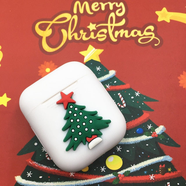 Christmas 'Christmas Tree' AirPods Case Shock Proof Cover