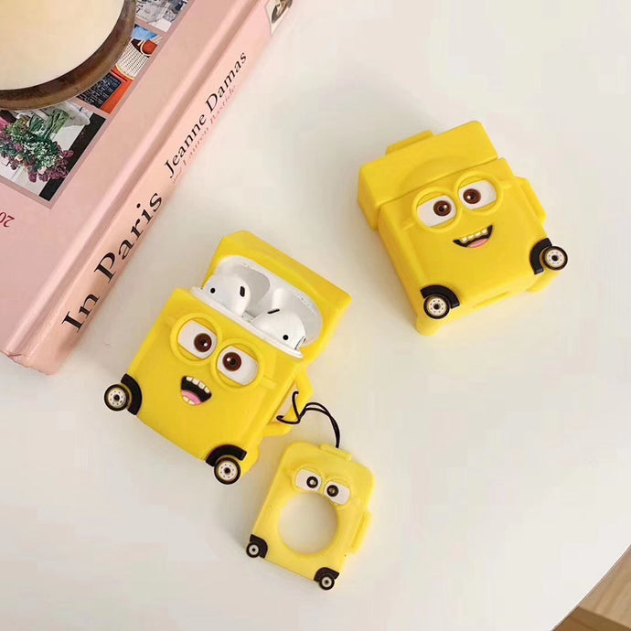 Minions 'Luggage' Premium AirPods Case Shock Proof Cover