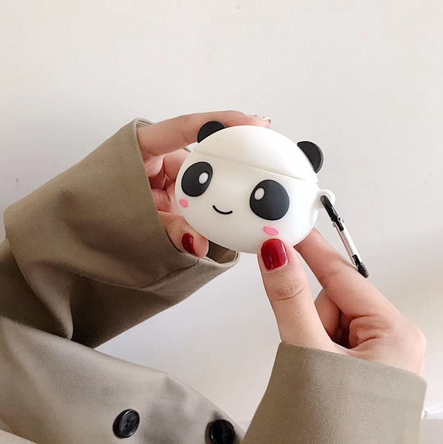 Happy Panda Premium AirPods Case Shock Proof Cover
