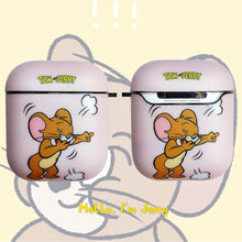 Load image into Gallery viewer, Tom and Jerry 'Jerry' AirPods Case Shock Proof Cover