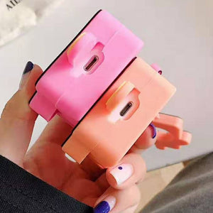 Pink Popsicle Premium AirPods Case Shock Proof Cover