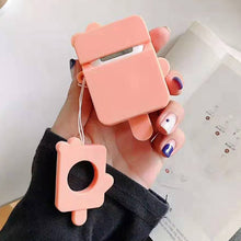 Load image into Gallery viewer, Orange Popsicle Premium AirPods Case Shock Proof Cover