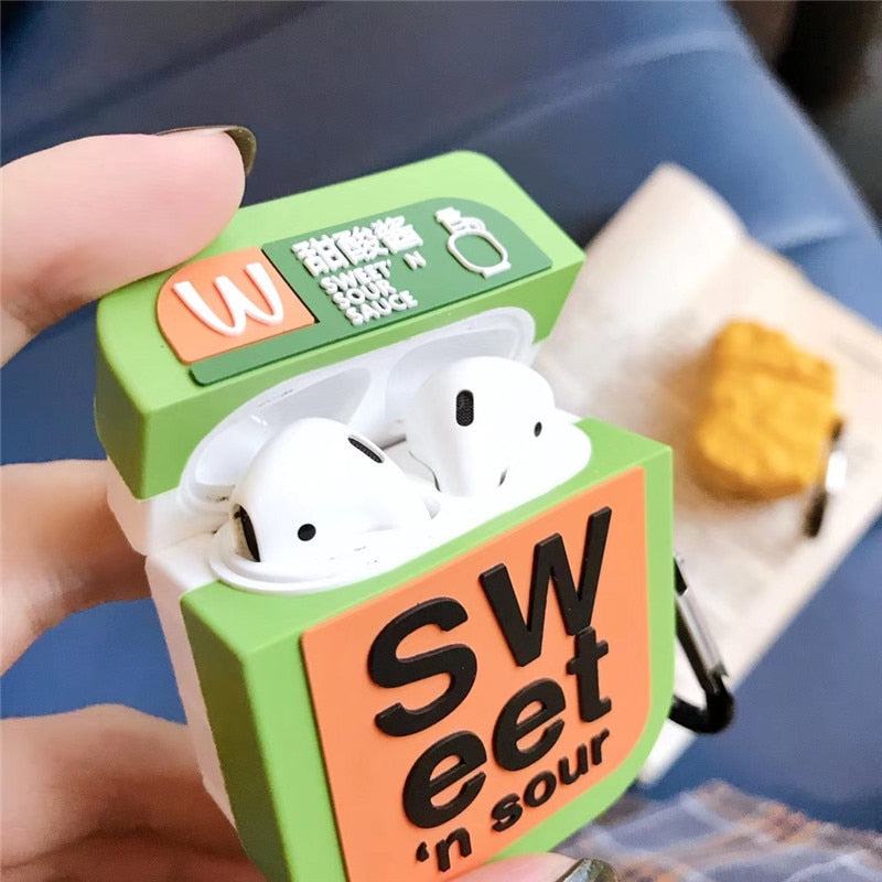 Mcdonald S Sweet And Sour Sauce Premium Airpods Case Shock Proof Cover Iaccessorize