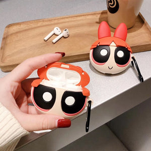 Powerpuff Girls 'Blossom' Premium AirPods Case Shock Proof Cover