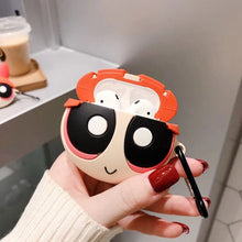 Load image into Gallery viewer, Powerpuff Girls 'Blossom' Premium AirPods Case Shock Proof Cover