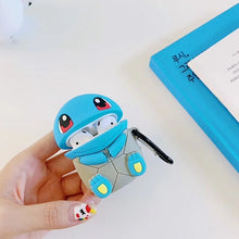 Load image into Gallery viewer, Pokemon 'Sitting Squirtle' Premium AirPods Case Shock Proof Cover
