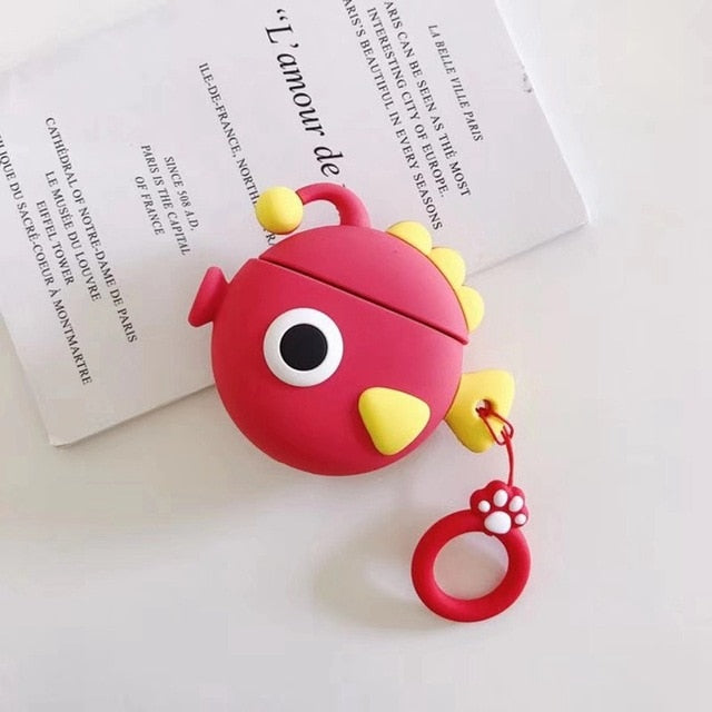 Red Fishy Premium AirPods Case Shock Proof Cover