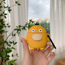 Load image into Gallery viewer, Pokemon Psyduck 'Comic' Premium AirPods Case Shock Proof Cover