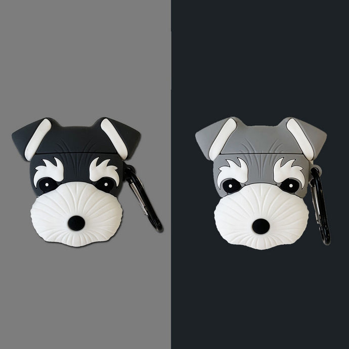 Schnauzer Dog Premium AirPods Case Shock Proof Cover
