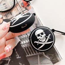 Load image into Gallery viewer, Pirate Skull Logo Premium AirPods Case Shock Proof Cover