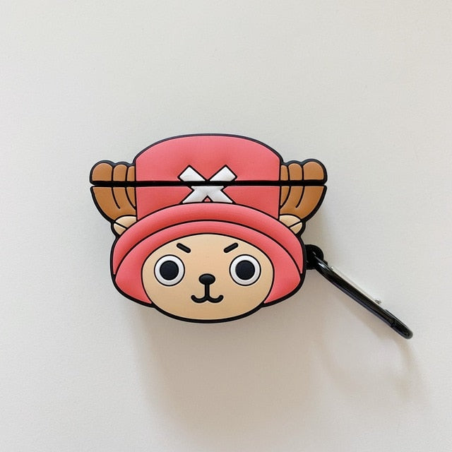 One Piece 'Tony Tony Chopper Comic' Premium AirPods Case Shock Proof Cover