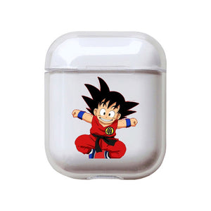 Dragon Ball Z | DBZ 'Goten Comic' Clear Acrylic AirPods Case Shock Proof Cover