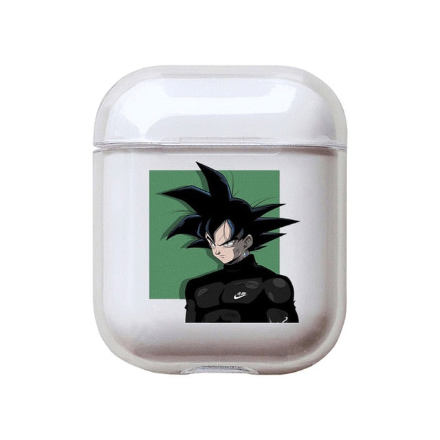 Dragon Ball Z | DBZ 'Zamasu Silhouette' Clear Acrylic AirPods Case Shock Proof Cover