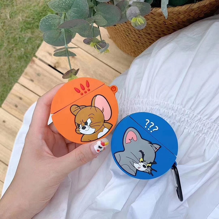 Tom and Jerry 'Confused Tom' Premium AirPods Case Shock Proof Cover