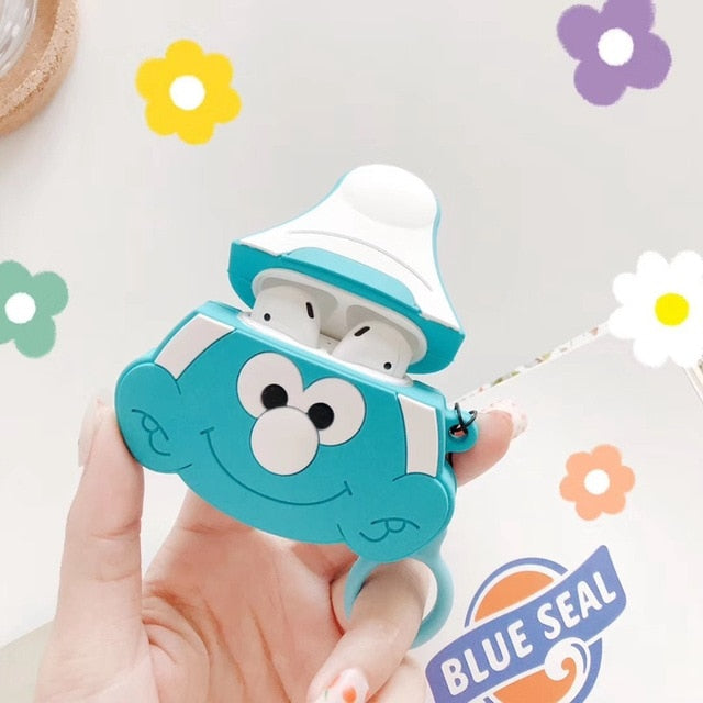 Smurfs Premium AirPods Case Shock Proof Cover