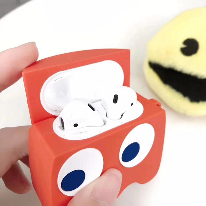 Nintendo 'Pac-Man Ghost' Premium AirPods Case Shock Proof Cover