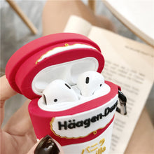 Load image into Gallery viewer, Haagen Dazs Ice Cream Ice Cream Premium AirPods Case Shock Proof Cover