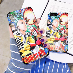 One Punch Man iPhone Case