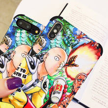 Load image into Gallery viewer, One Punch Man iPhone Case