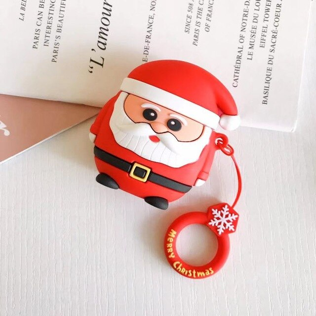Christmas 'Santa Claus' Premium AirPods Case Shock Proof Cover