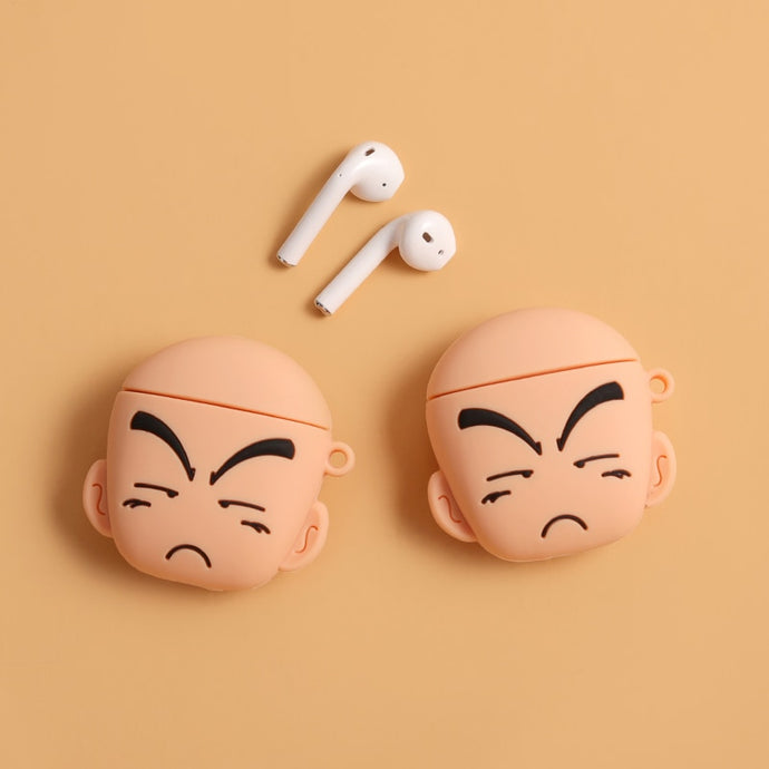 Dragon Ball Z 'Krillin' Premium AirPods Case Shock Proof Cover