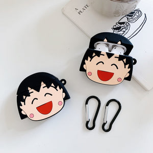 Doraemon 'Tamako Kataoka' Premium AirPods Case Shock Proof Cover