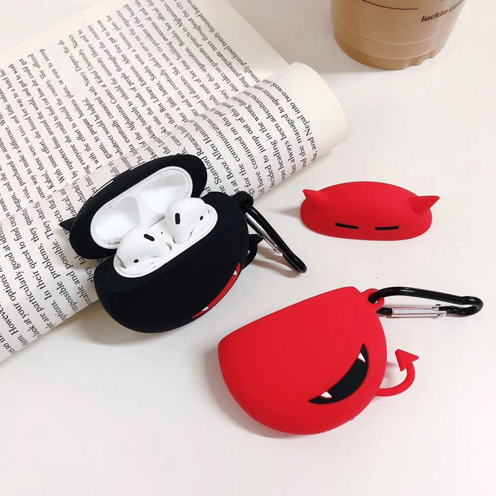 Red Little Devil Premium AirPods Case Shock Proof Cover