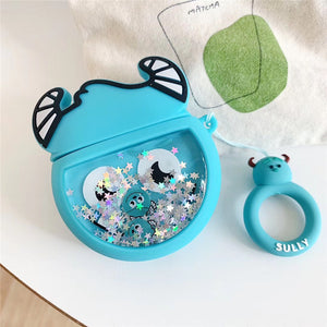 Monsters Inc. 'Baby Sully Snow Globe' Premium AirPods Case Shock Proof Cover