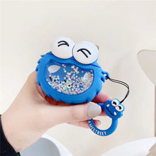 Load image into Gallery viewer, Sesame Street 'Cookie Monster Snow Globe' Premium AirPods Case Shock Proof Cover