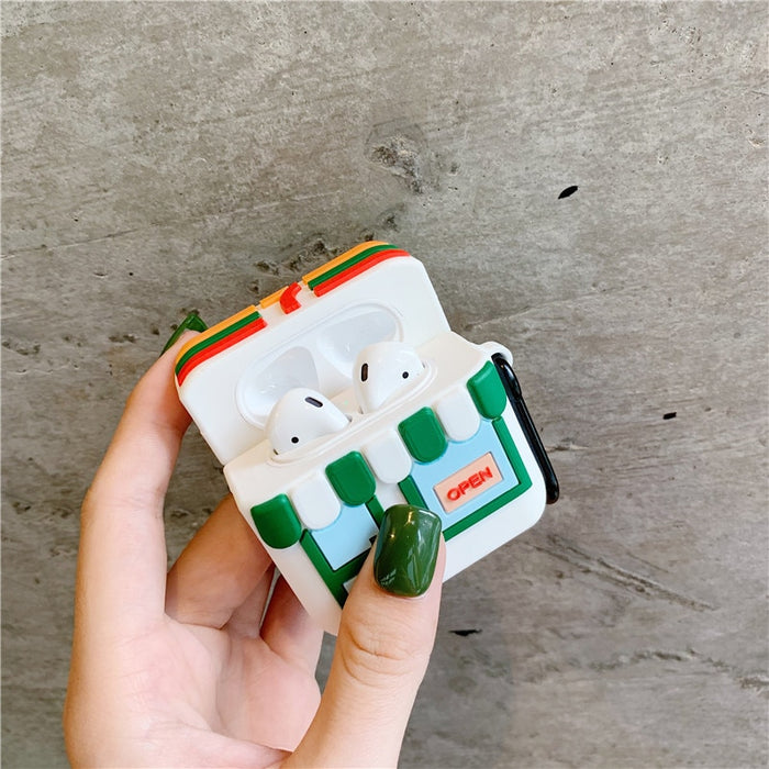 7-11 Store Premium AirPods Case Shock Proof Cover