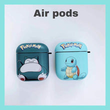 Load image into Gallery viewer, Pokemon Snorlax 'Blue' AirPods Case Shock Proof Cover